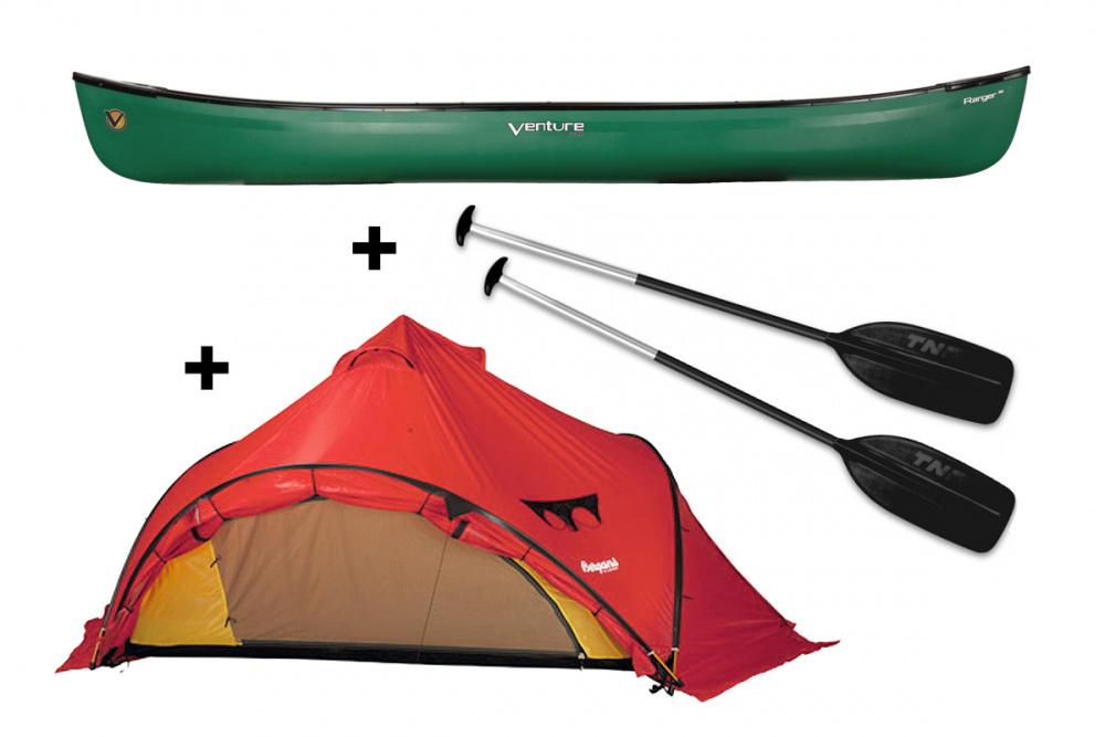 VENTURE Ranger 162 kanopakke med Bergans Wiglo telt